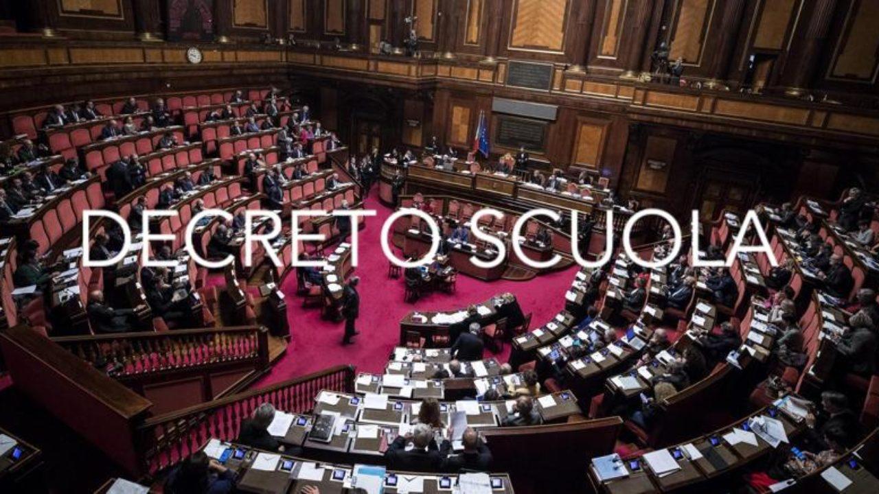 Decreto Scuola 2020